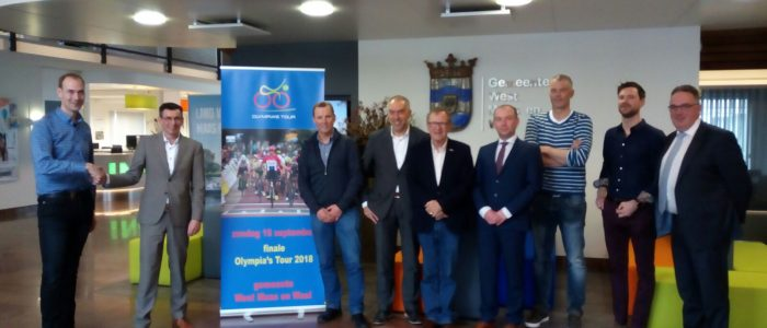 Slotrit Olympia's Tour eindigt op rivierdijken in gemeente West Maas en Waal
