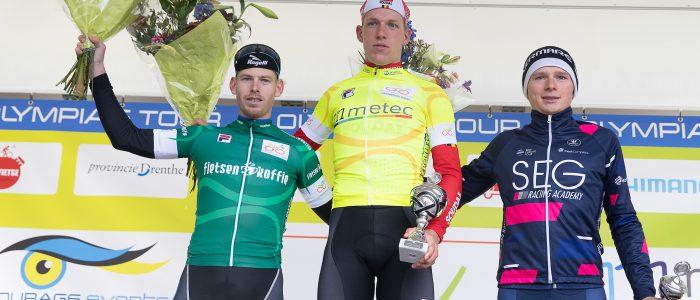 De Pestel wint Olympia's Tour; slotrit voor Van Dalen